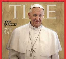 TIME Picks Pope over Bam