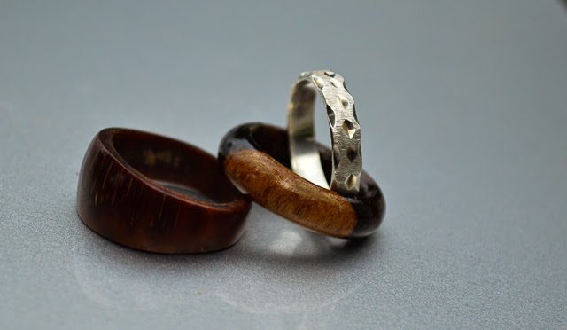 Travel wedding bands