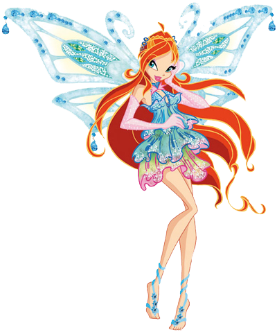 Club Dress on Just Another Crazy Winx Fan  Bloom Enchantix From Good Vs Evil 4pk