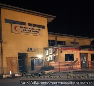 Klinik kesihatan masjid tanah