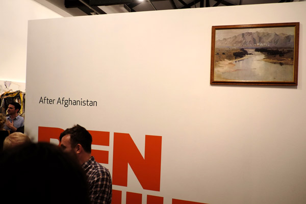 Title wall, 'After Afghanistan' NAS Gallery 2013