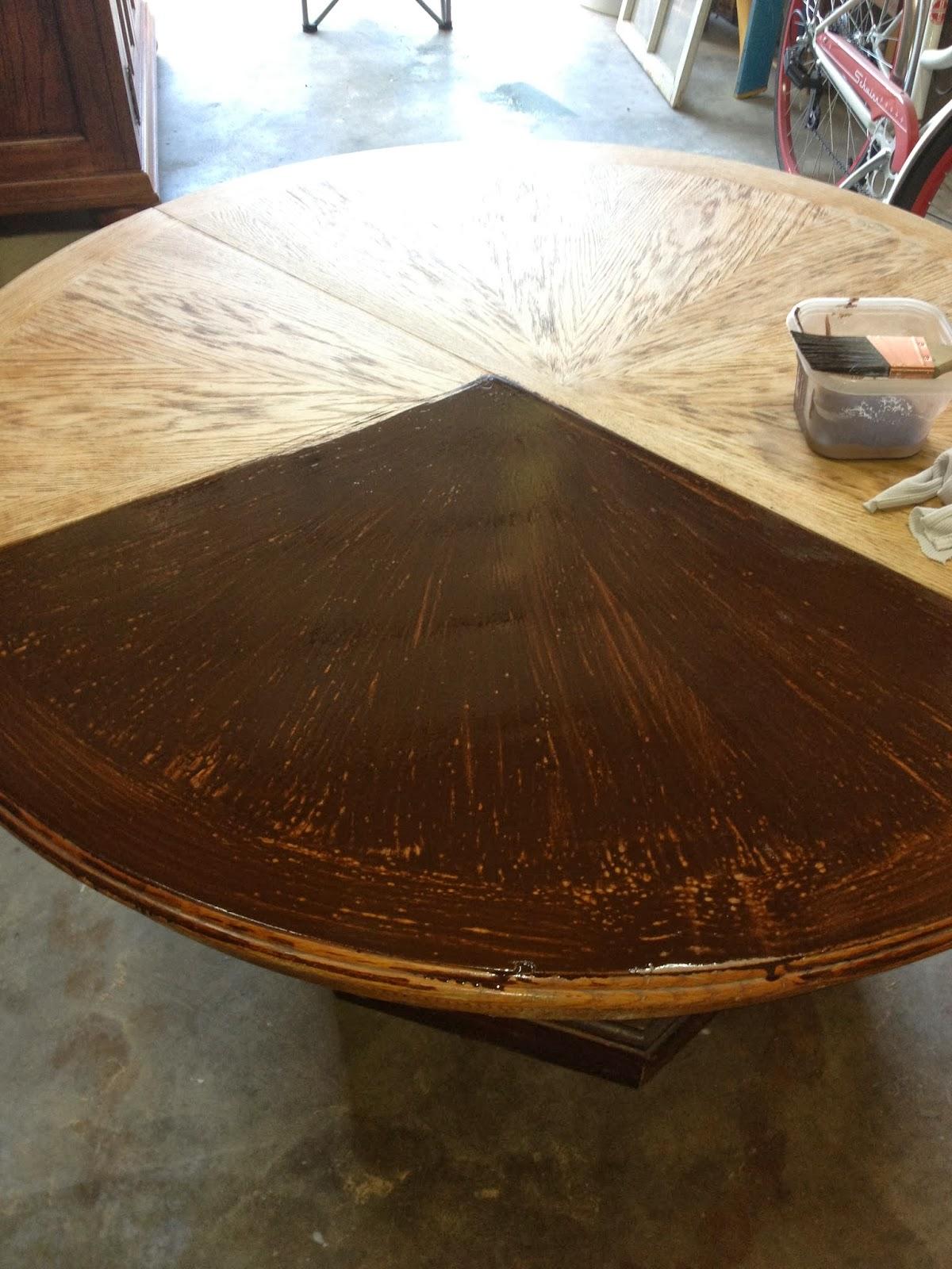 refurbished kitchen table