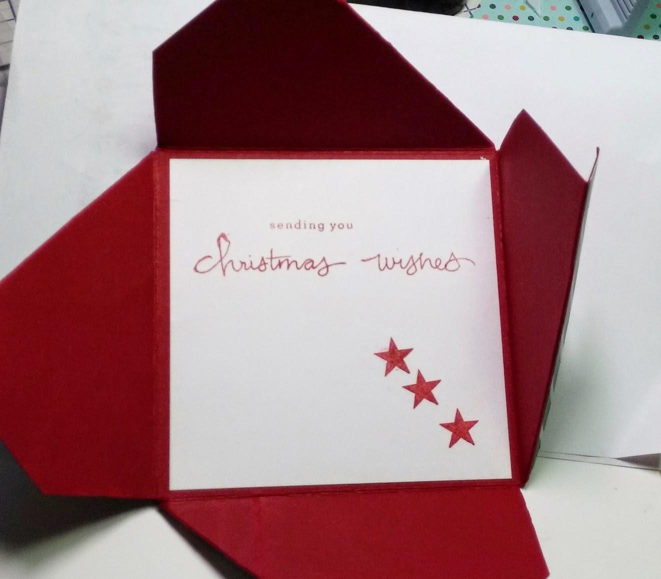four fold card instructions