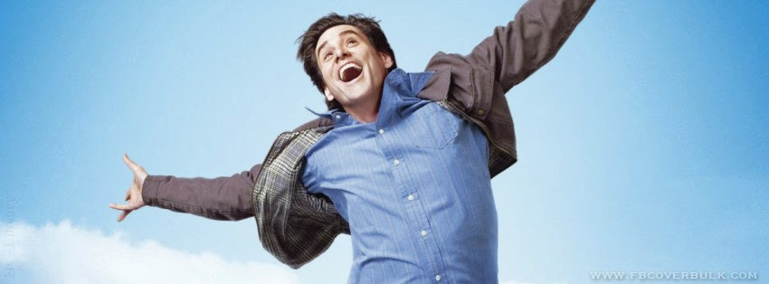 Jim Carrey In Yes Man Facebook Timeline Cover