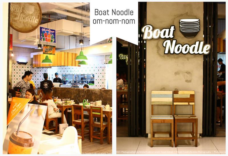 Menu Baru Boat Noodle Berjaya Time Square