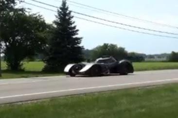 Kereta Batman Versi Dunia Nyata