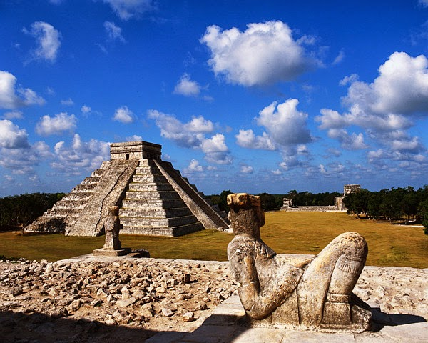 Chichen Itzá en la Riviera Maya, México