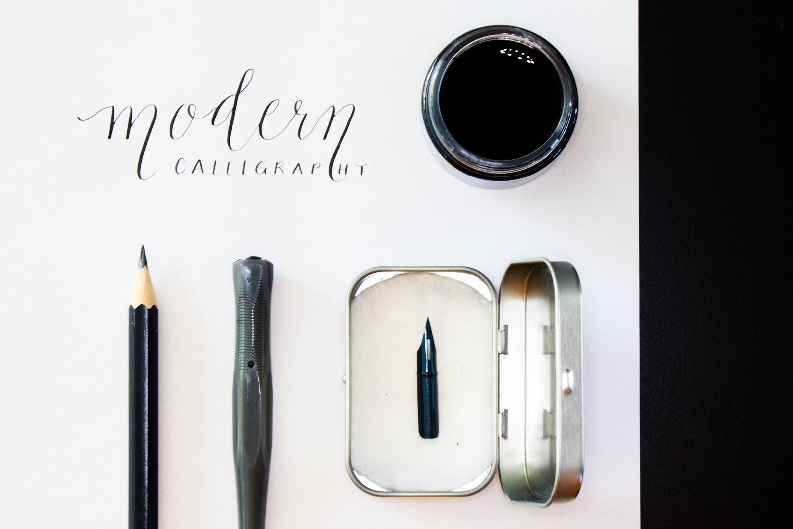 Eula sleeps workshop report modern calligraphy with niftynibsph