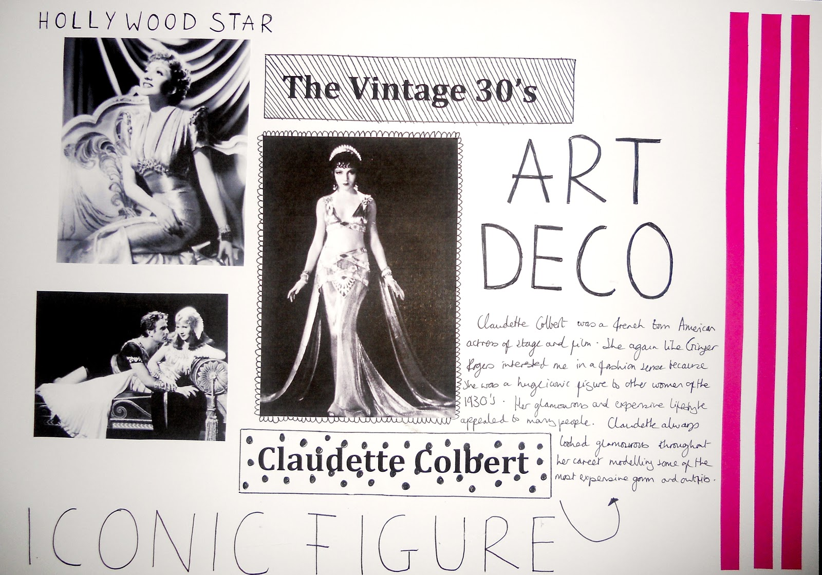 Art deco fashion essay