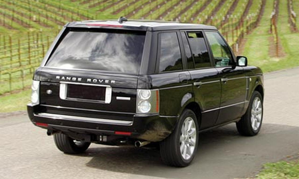 2007+Land+Rover+Range+Rover+Supercharged+rear+view automotive database range rover (l322)  at fashall.co