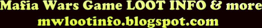 MW LOOT INFO