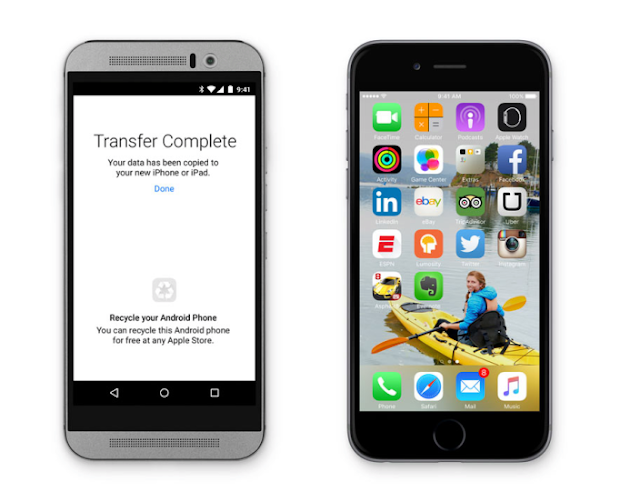 تطبيق لنقل ملفاتك من أندرويد إلى iOS