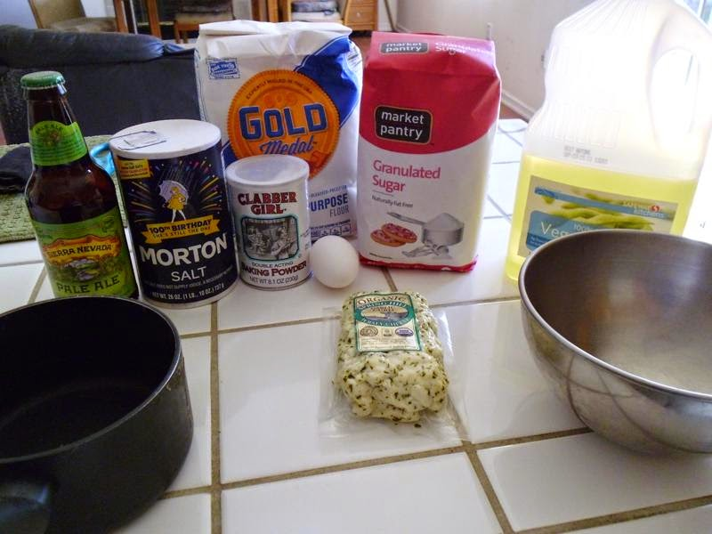 Deep Fried Cheese curd ingredients