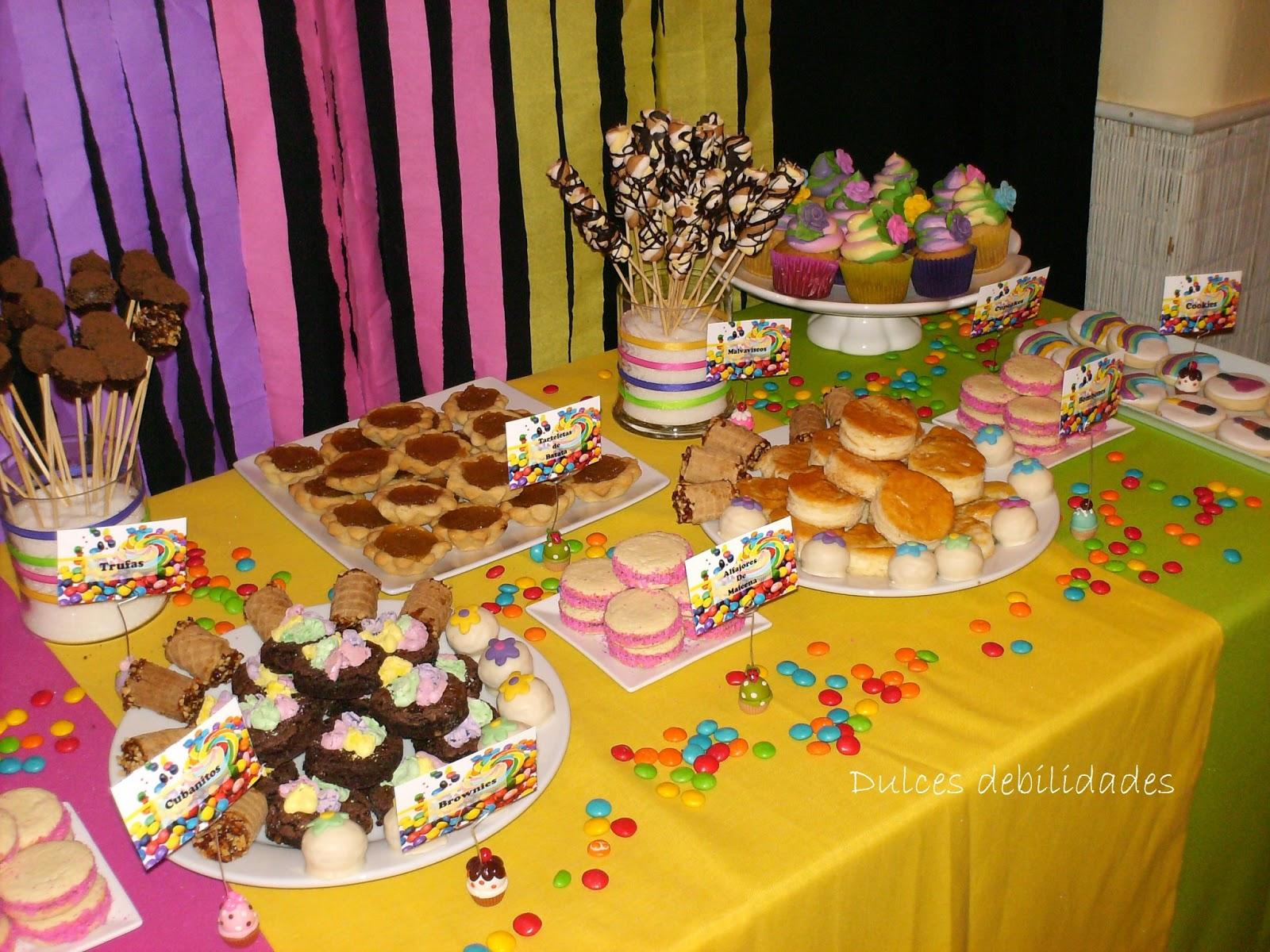 Mesas con dulces imagui for Mesas dulces cumpleanos