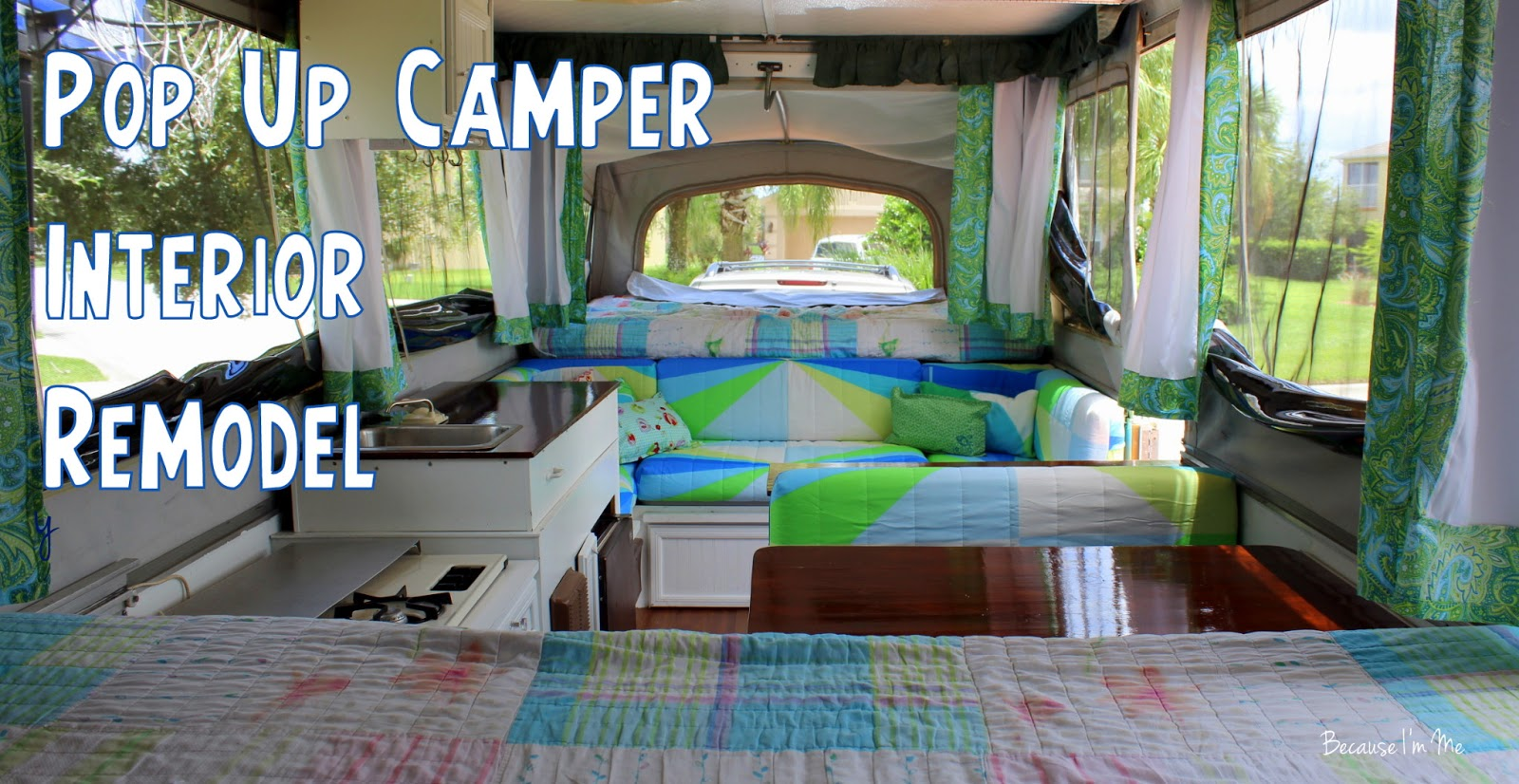 Camper Update. Because I m Me