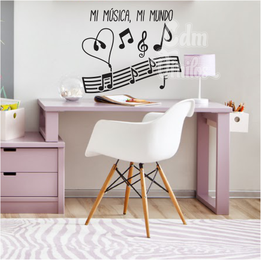 Vinilos decorativos para pared cdm vinilos decorativos for Vinilo decorativo musical pared