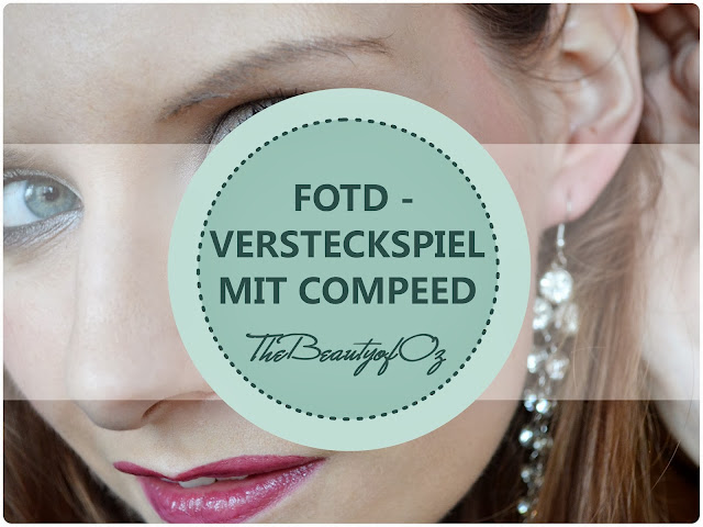 Make Up Look mit Compeed Herpesbläschenpflaster
