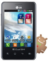 LG Optimus L3 E405 Dual SIM Mobile
