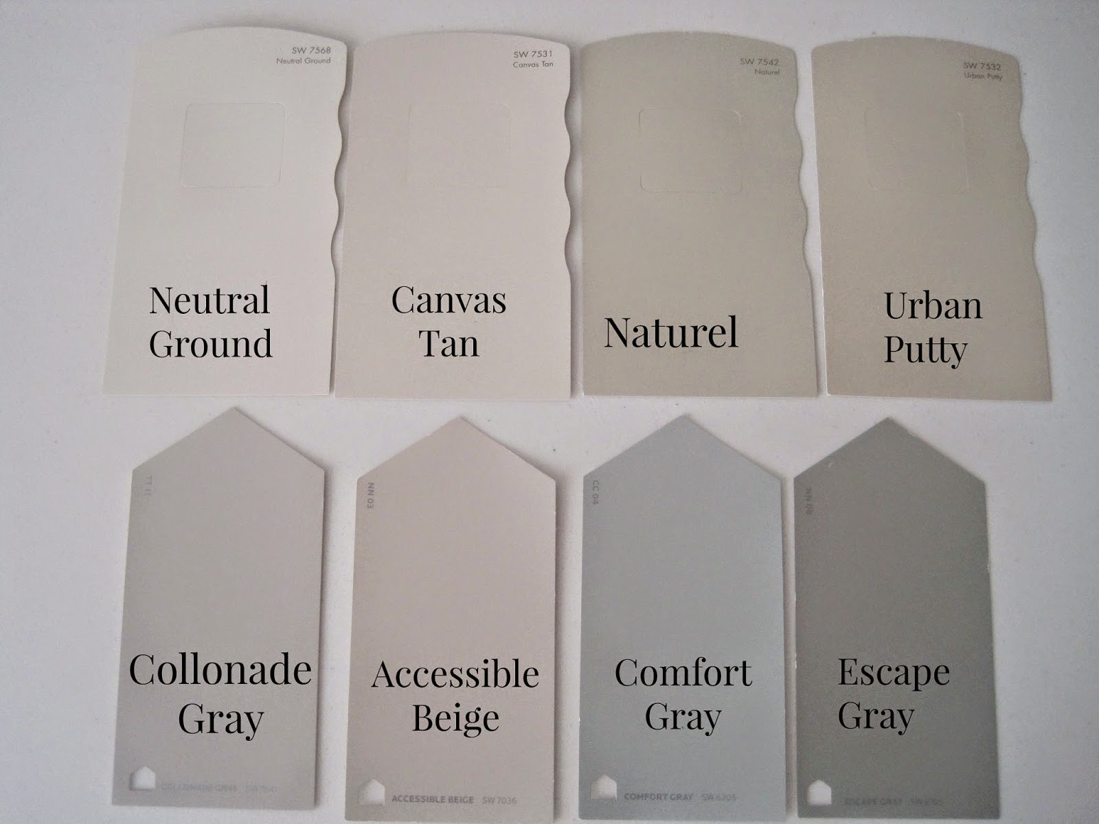 Decorated chaos a new year and exploring new colors for Sherwin williams collonade gray exterior