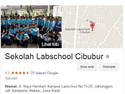 gambar SMA  Labschool Cibubur