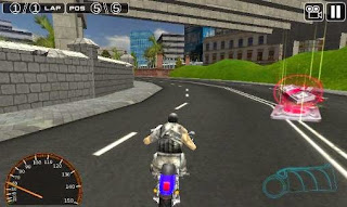 Screenshots of the Moto racing 3D for Android tablet, phone.