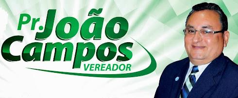 VEREADOR PR. JOÃO CAMPOS