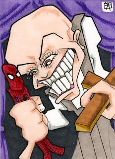 puppet master, spider-man, j(ay)