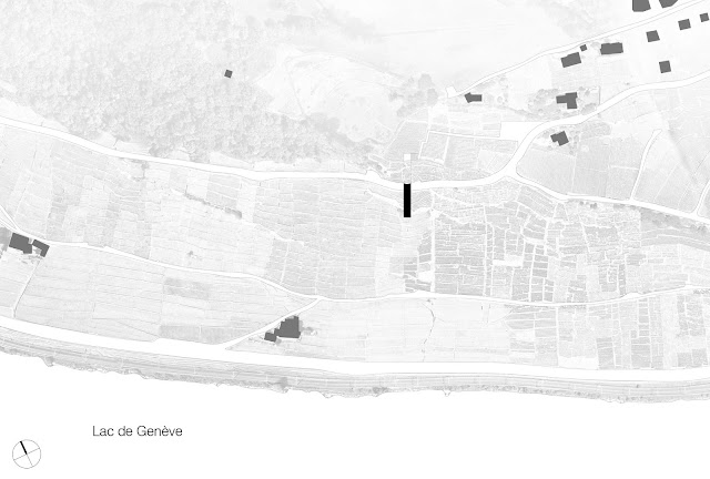 Site plan and location of the modern museum