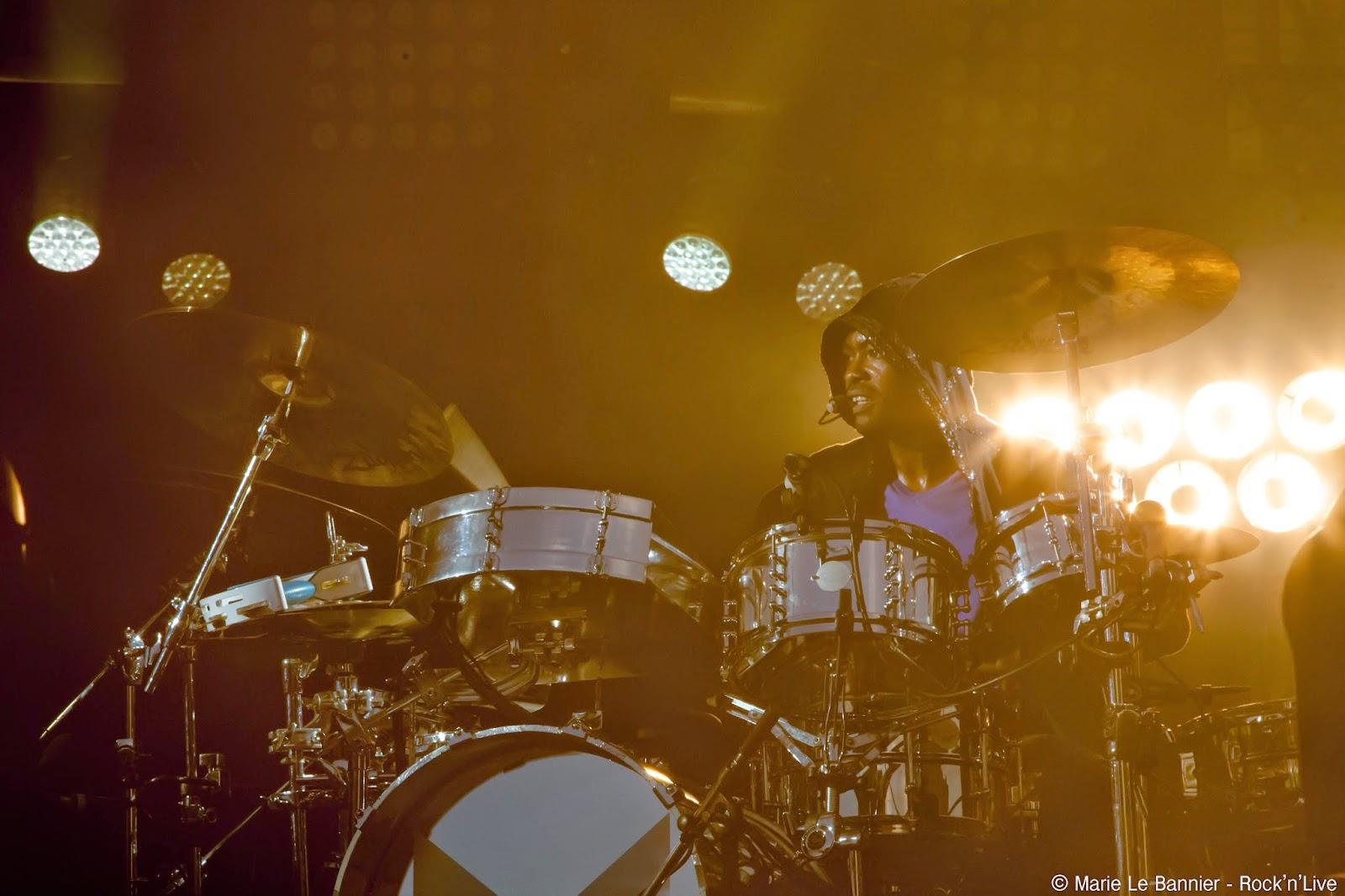 -M- Festival Fnac Live Paris Rock'n'Live 2014 Live Concert Marie Le Bannier Paris Mama Sam Ego Onde Sensuelle Je dis aime