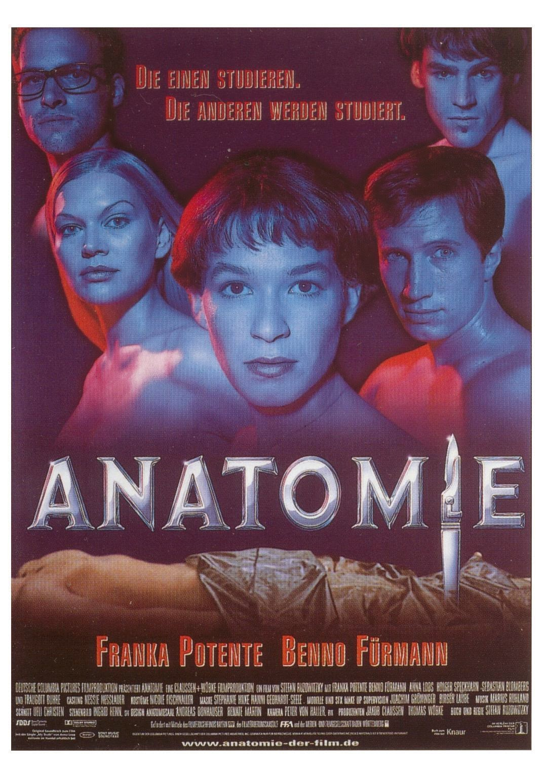 RaysFilme - Horror, Thriller, Science-Fiction: Anatomie