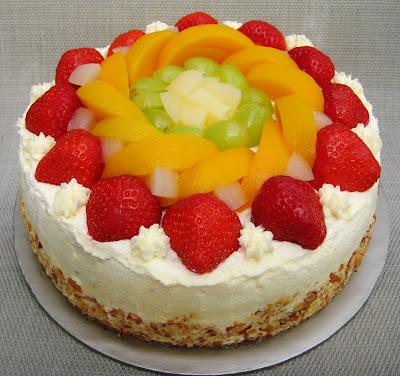 Asian Fruit Cake Fresh fruit cream cake- $45