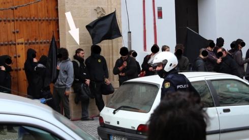Luis García Torres, el supuesto policía infiltrado en el 15-M y en los movimientos sociales de Sevilla Infiltrado2:3