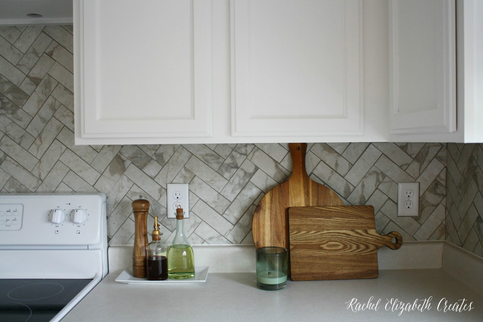 Kitchen Reveal (Series From Basic New Builder Grade to Custom ...