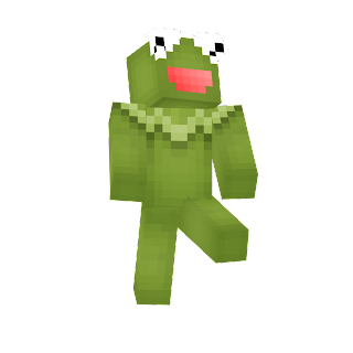 Kermit The Frog The Muppet Show Minecraft Skin