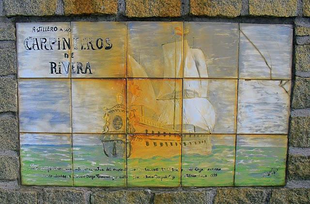 Monumento al Carpintero de Ribera en Astillero