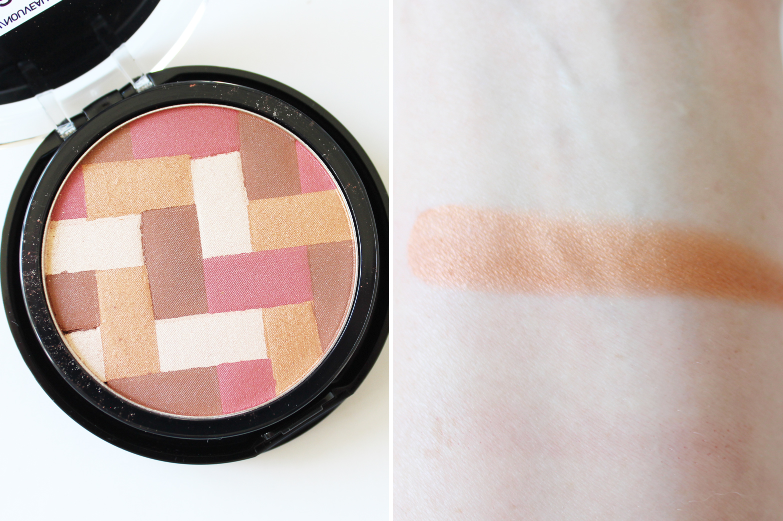 MAYBELLINE | Master Hi-Light Highlighting Bronzer + Master Glaze Blush Stick - Review + Swatches - CassandraMyee