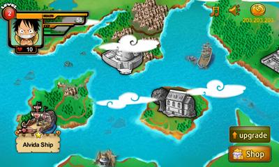 bidang permainan game One Piece