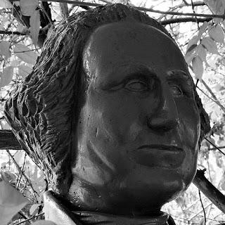 Busto de George Washington: Primeiro Presidente dos Estados Unidos da América.