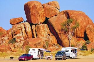 batu setan muncul di australia
