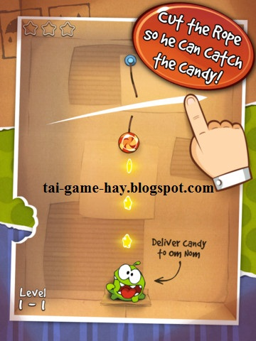 cut the rope flash game