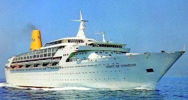 Nicks Cruise Corner Ageless Ships Part Spirit Of London - Cruise ship in london