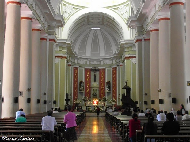 Chiclayo, Catedral, interno