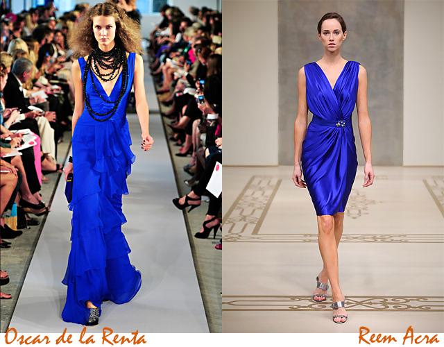 blu + arancio