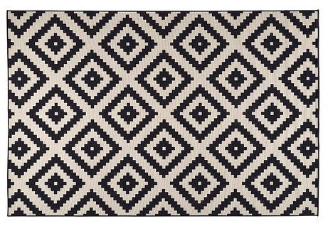 Retr and design tappeti originali e alternativi - Tappeto bianco e nero ...