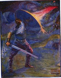 Beowulf's Final Battle