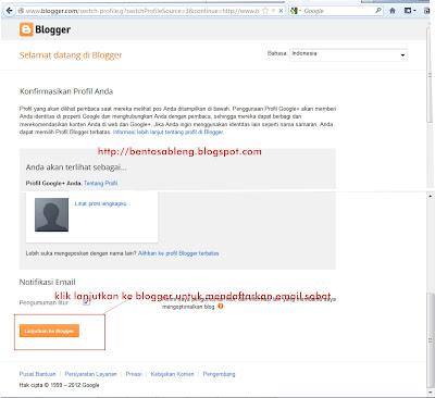 cara membuat blogspot di blogger dengan cepat