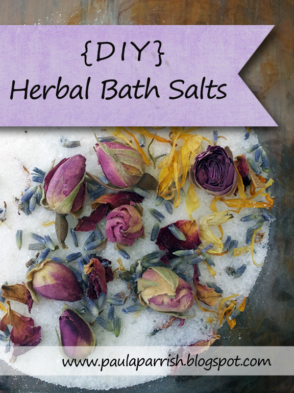 DIY Herbal Bath Salts