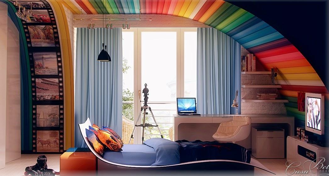 Pokój dla dziecka, chłopca, jak urządzić, aranżacje, niesamowity, niezwykły, odjechany, kids, child, bedroom,