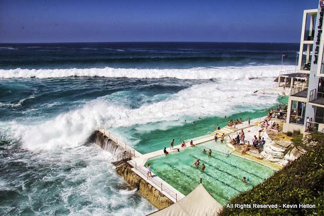 Bondi Baths, Eastern Suburbs, Sydney, Australia