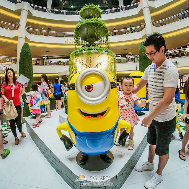 Minions Invasion at Mid Valley Megamall